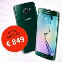 Gagnez smartphone Samsung Galaxy S6 EDGE