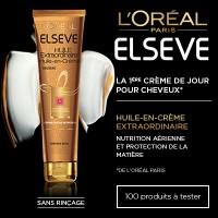 Testez l'Huile-en-Crème Extraordinaire cheveux secs Elseve de L'Oréal
