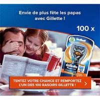 rasoirs Gillette Fusion ProGlide FlexBall à gagner