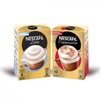 Echantillons gratuits de Nescafé Cappuccino et latte