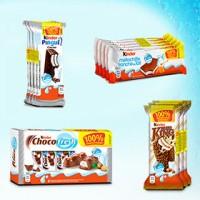 Chocolats Kinder gratuits car 100% rembousés