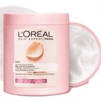 Test L'Oréal : 200 Crèmes démaquillantes Fleurs Délicates gratuites