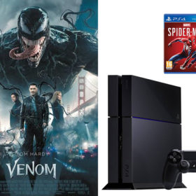 PS4 et le jeu Marvel's Spider-Man a gagner