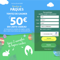 Concours Auchan Grand Jeu de Paques - auchan.fr
