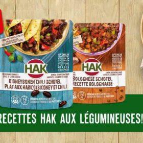 plat HAK aux haricots 100% rembourse