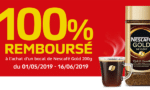 cafe nescafe Gold 200g rembourse - nescafepromo.be