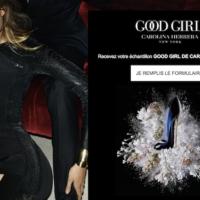 echantillons gratuits - parfum Good Girl Carolina Herrera