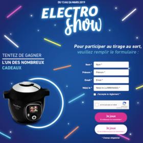jeu Auchan Electro Show - auchan.fr