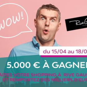 Participez au jeu Rive Gauche – Shop & Win 2019
