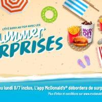concoursMcDonald's Summer Surprises