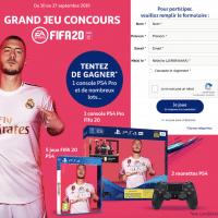Participez au jeu Auchan FIFA 2020