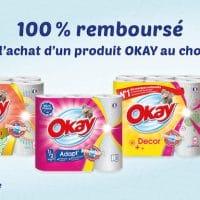 Soyez rembourse pour l'achat d'un produit Okay