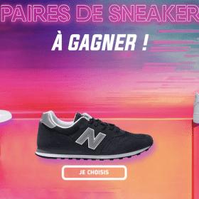 Gagnez une paire de sneakers