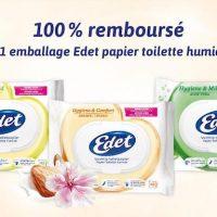 Soyez rembourse pour l'achat du papier toilette EDET