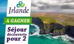 un concours pour gagner un voyage en Irlande