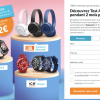 offre speciale Test Achats