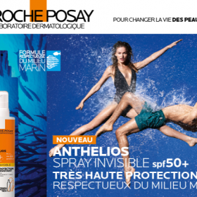 participez au test Anthelios Sprays Invisibles spf50+