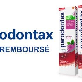 profitez de votre dentifrice Parodontax 100% rembourse