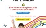 participer au jeu Collecte Listes Scolaires Auchan