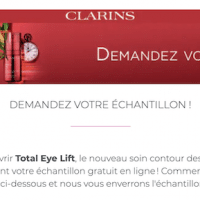recevez votre echantillon gratuit Clarins Total Eye Lift